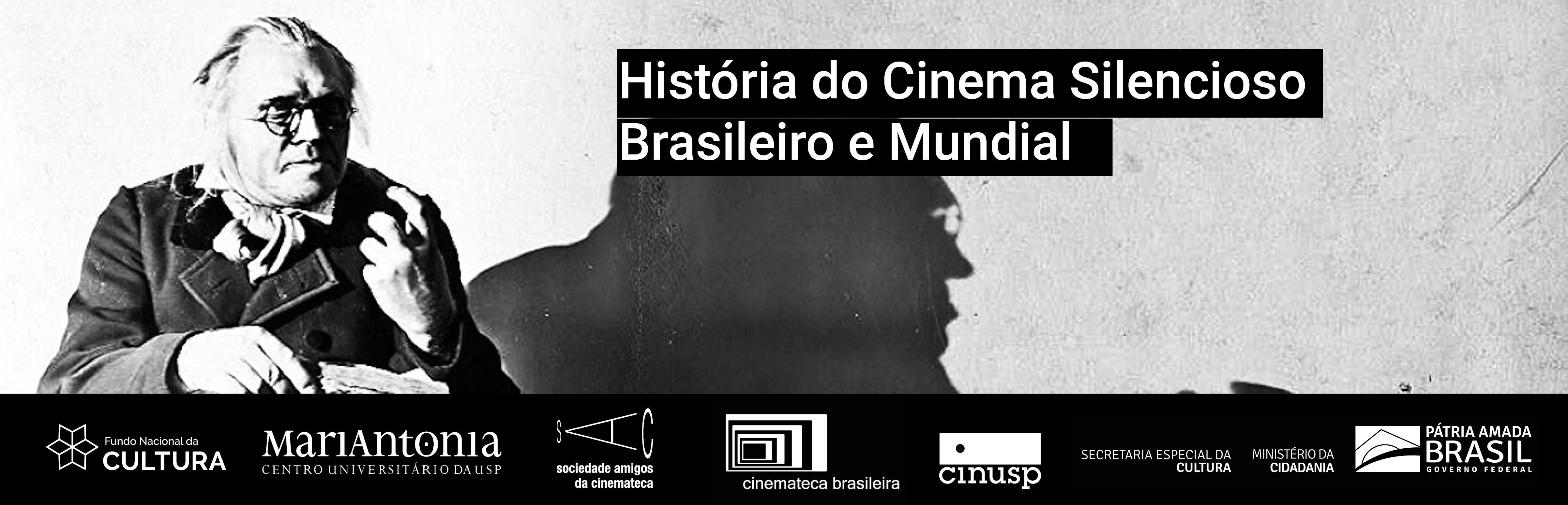 Curso História do Cinema Silencioso Brasileiro e Mundial