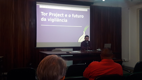 Gustavo Gus explica o que é o Tor Project e o futuro da vigilância na internet