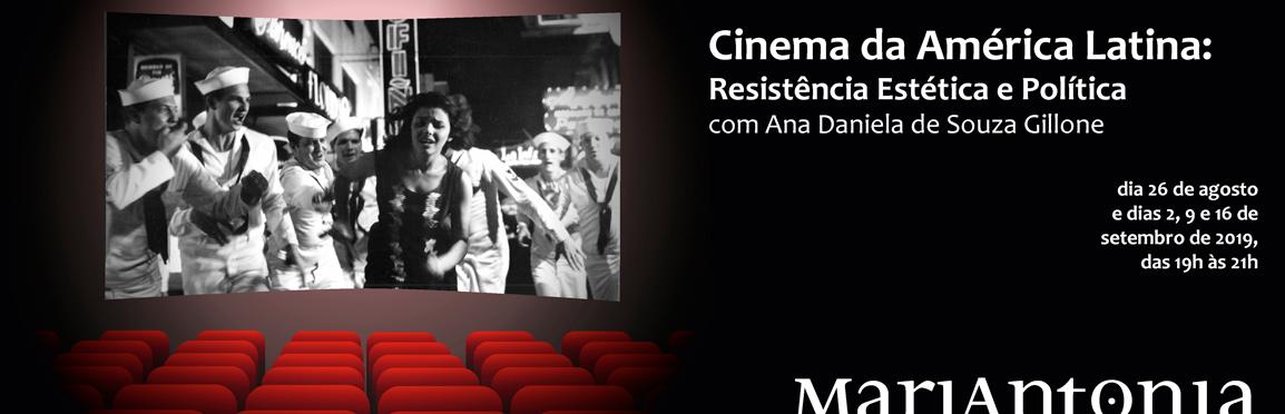 Curso discute cinema revolucionário e militante da América Latina
