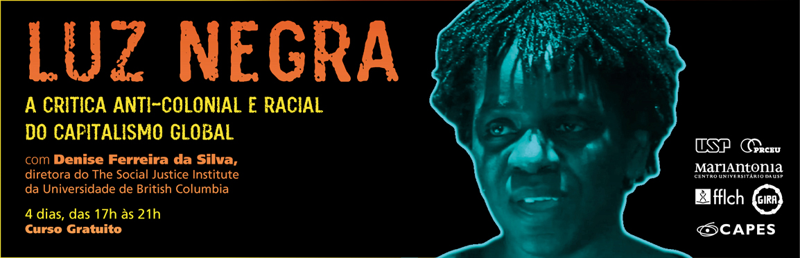 "Curso gratuito ""Luz Negra – a crítica anti-colonial e racial do capitalismo global"""
